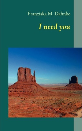 I need you Cover Image