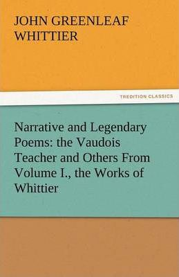 Narrative and Legendary Poems Cover Image