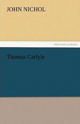 Thomas Carlyle Cover Image