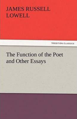 The Function of the Poet and Other Essays Cover Image