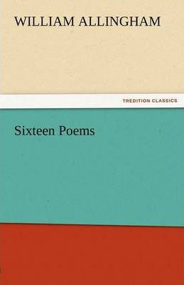 Sixteen Poems Cover Image