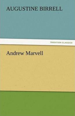 Andrew Marvell Cover Image