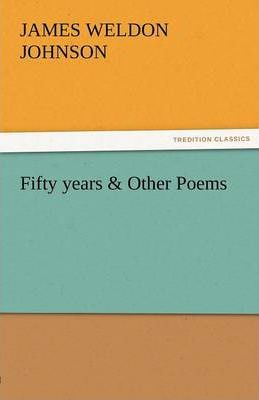 Fifty Years & Other Poems Cover Image