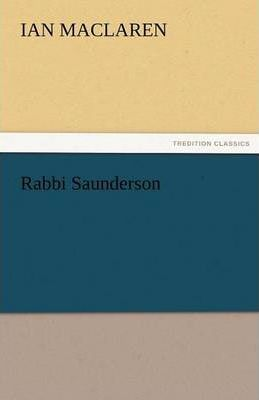 Rabbi Saunderson Cover Image