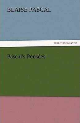 Pascal's Pensees Cover Image