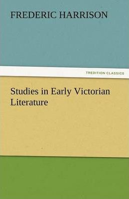 Studies in Early Victorian Literature Cover Image