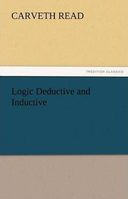 Logic Deductive and Inductive Cover Image