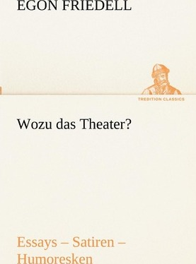 Wozu Das Theater? Cover Image
