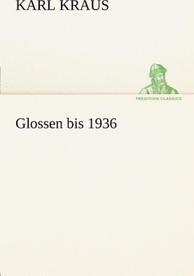 Glossen Bis 1936 Cover Image