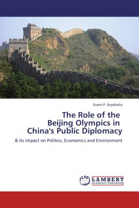 The Role of the Beijing Olympics in China's Public Diplomacy