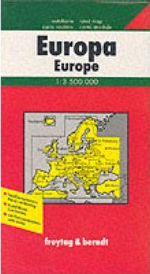 Europe Political Road Map 1:3 500 000