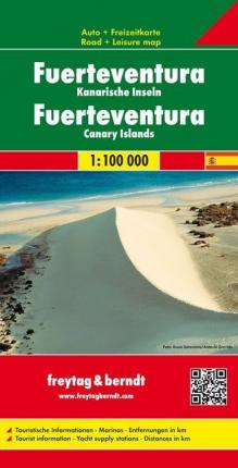 Fuerteventura Road Map 1:100 000