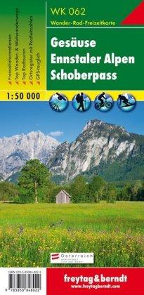 Gesause - Ennstal Alps - Schoberpass Hiking + Leisure Map 1:50 000