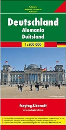 Germany Road Map 1:500 000
