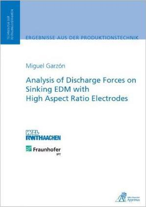 Analysis of Discharge Forces on Sinking EDM with High Aspect Ratio Electrodes