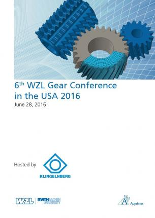 6th WZL Gear Conference in the USA 2016