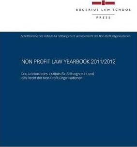 Non Profit Law Yearbook 2011/2012