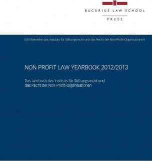 Non Profit Law Yearbook 2012/2013