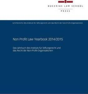 Non Profit Law Yearbook 2014/2015