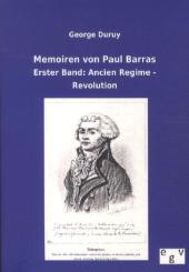 Memoiren von Paul Barras