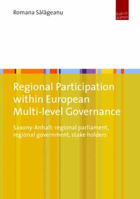 Regional Participation Within European Multi-level Governance