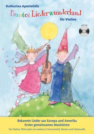 Buntes Liederwunderland - Band 2 (Book/CD)