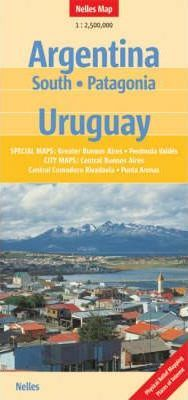 Argentina South and Uruguay Nelles Map