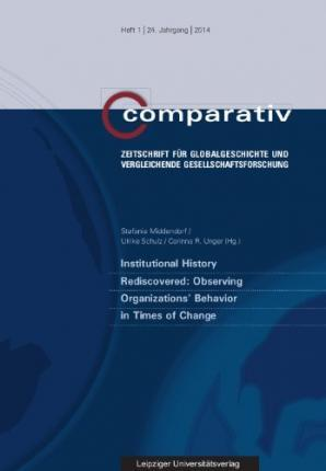 Institutional History Rediscovered: Observing Organizations' Behavior in Times of Change