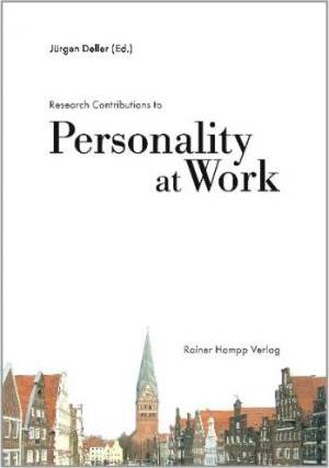 Research Contributions to Personality at Work