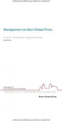 Management von Born Global Firms