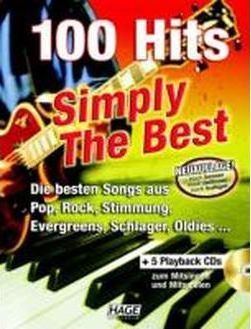 100 Hits Simply The Best mit 5 Playback CDs