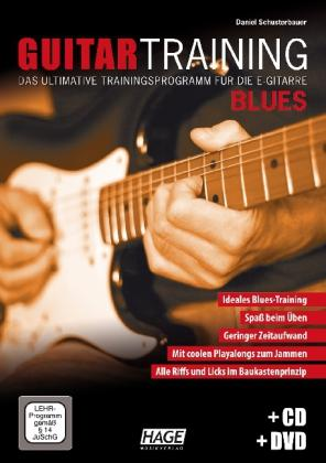 Guitar Training Blues + CD + DVD