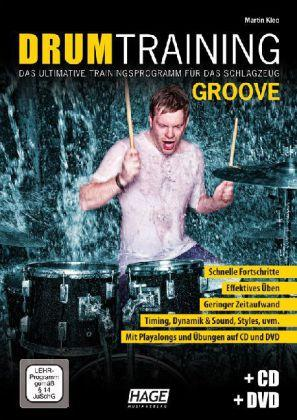 Drum Training Groove + CD + DVD