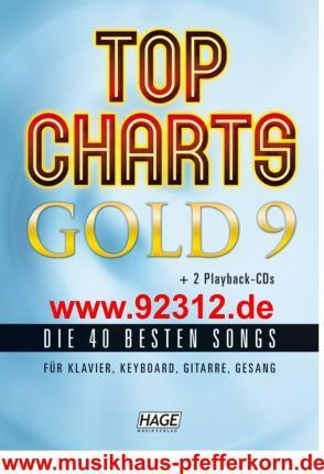 Top Charts Gold 09. Mit 2 Playback CDs