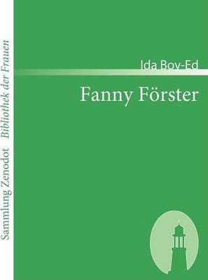 Fanny F Rster