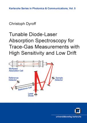 Tunable Diode-Laser Absorption Spectroscopy for Trace-Gas Measurements with High Sensitivity and Low Drift