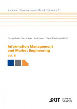 Information Management and Market Engineering. Vol. II
