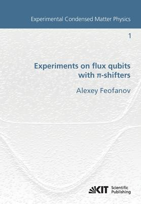 Experiments on flux qubits with pi-shifters