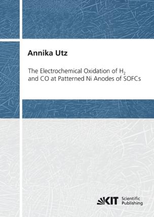 The Electrochemical Oxidation of H2 and CO at Patterned Ni Anodes of SOFCs