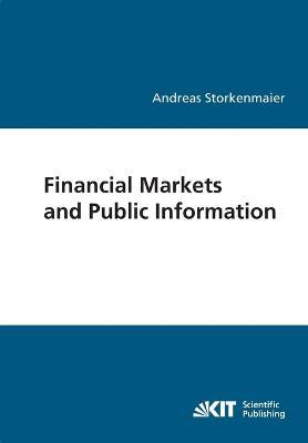 Financial markets and public information