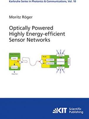 Optically Powered Highly Energy-efficient Sensor Networks