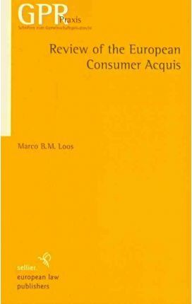 Review of the European Consumer Acquis