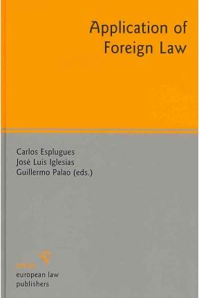 Application of Foreign Law