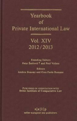 Yearbook of Private International Law
