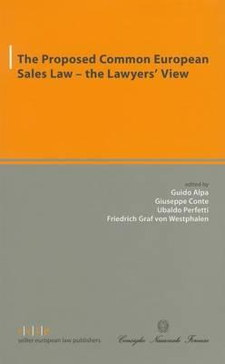 The Proposed Common European Sales Law