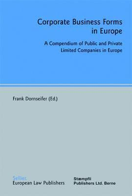 Corporate Business Forms in Europe