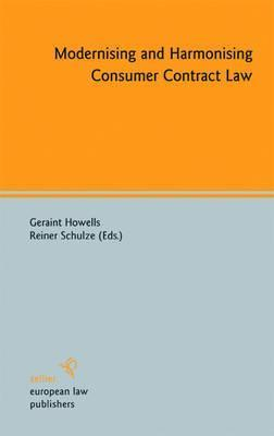 Modernising and Harmonising Consumer Contract Law