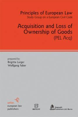 Acquisition and Loss of Ownership of Goods