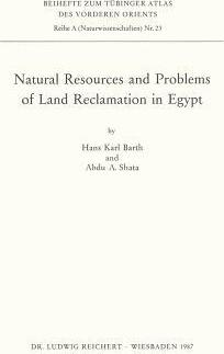 Natural Resources And Problems Of Land Reclamation In Egypt H - Natural resources in egypt