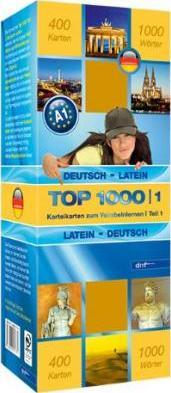 Top 1000 Teil 1. Deutsch-Latein / Latein-Deutsch